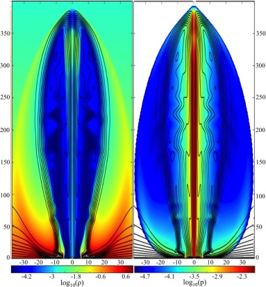 Relativistic MHD simulations of core-collapse GRB jets: 3D